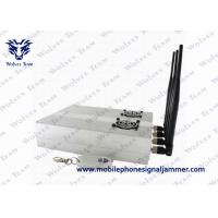 Buy cheap Desktop Cell Phone Blocker With 2 Cooler Fans , Mobile Jammer Device CDMA 3G GSM from wholesalers