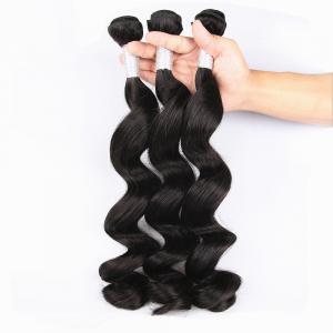 Quality Unprocessed Virgin Human Hair Bundles Loose Deep Wave Human Hair Weave For Black Woman wholesale