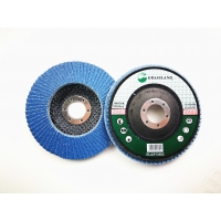 Quality 125mm 40 Grit 80 Grits Angle Grinder Polishing Zirconia Flap Discs wholesale