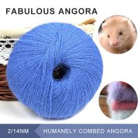 China Superb 70% rabbit 30% Polyamide 2/14NM fluffy yarn favorite for cowls hats and scarves on sale