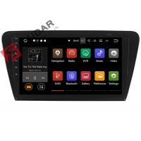 Cheap 10.1 Inch 1024*600 Android Car Navigation System Skoda Octavia Car Stereo for sale