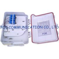 Buy cheap 16 Ports Fiber Optic Distribution Box With Splitters and Adapter For FTTH​ from wholesalers