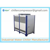 Quality 10hp Industrial Air Cooled Water Chiller, 10 tons Industrial Water Chiller wholesale