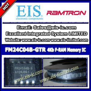 Quality FM24C04B-GTR - Ramtron - IC FRAM 4KBIT Serial I2C 1MHZ SOIC-8 - sales009@eis-ic.com wholesale
