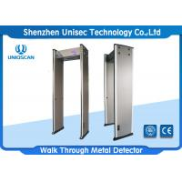 Quality walk through metal detector UB600 with high density fireproof material and high sensitivity for metro and school.etc. wholesale