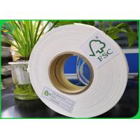 Quality 14mm 15mm Width Biodegradable FDA Food Grade Paper Roll 60gsm 80gsm 120gsm 135gsm For Disposable Paper Straw wholesale