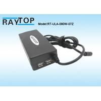 Cheap Red Color LED Halo 90W Automatic Universal Laptop Charger Dual USB 5V 3.1A 10 for sale