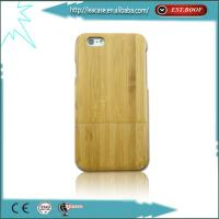 Cheap Eco-friendly Genuine Natural Bamboo Cover Case For Iphone 6/6 Plus for sale
