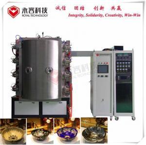 Quality Wash Basin Ceramic Coating Equipment , TiN TiO Arc Vacuum Plating Machine wholesale
