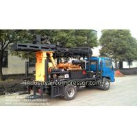 Quality 200m Depth 10.5 - 24.6bar KW20 Truck Mounted Water Well Drilling Rigs CE wholesale