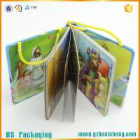 China China factoy Unique design baby board book with handle on sale