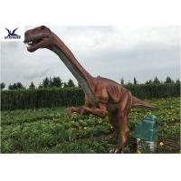 Quality Outside Zoo Park Decorative Realistic Dinosaur Statues Water And Smoke Spraying wholesale