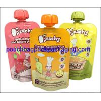 Quality Fruit juice spout pouch, stand up pouch with spout for juice packaging 150 ml wholesale
