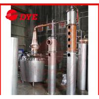 Quality Custom Copper Brandy Commercial Distilling Equipment For Fruitful Flavor wholesale