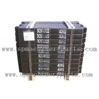 Quality Hot Selling Construction Equipment Elevator Concrete counter weight with black paint wholesale