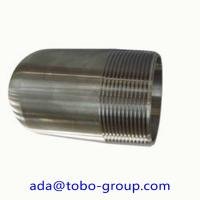 Quality Nickel Alloy UNS 2200 Forged Pipe Fittings MSS SP 95 NPT Male Bull Plug wholesale