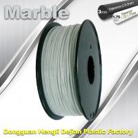 Quality 3mm 1.75mm 3D Printer Filament Flexible 3d Printing Filament Marble Filament wholesale