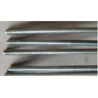 Quality Hardened All Thread Rod Bar Grade 4.8 Cutting Spiral Grooved Surface Anti Corrosion wholesale
