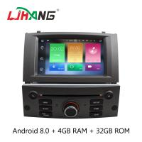 Quality Bluetooth 3G USB Peugeot 5008 Dvd Player , LD8.0-5588 Dvd Player For Android wholesale