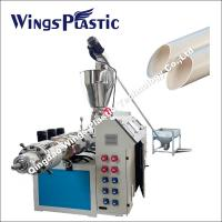 China Conical Twin Screw Extruder Machine / PVC Water Supply Pipe Making Machine on sale