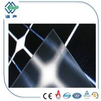 Quality High Safety patterned low iron tempered solar panel glass ultra white wholesale