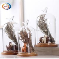Quality Artificial FlowerCreative Glass Dome Cover Animal Glass Cover Home Decoration wholesale