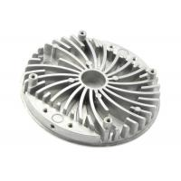 Quality OEM Heat Sink Round Extruded Aluminum Casting Components Thermal Cover wholesale