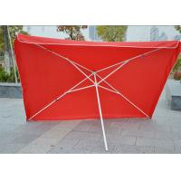 Quality Commercial Square Outdoor Umbrella Parasol , 2.7 M Garden Parasol With Logo Print wholesale