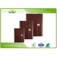 Quality Hot Stamping PU Cover Custom Embossed Notebook for Office Stationery ISO9001 wholesale