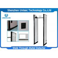 Quality High Sensitivity Multi Zone Metal Detector Body Scanner With Sound And LED Alarm wholesale
