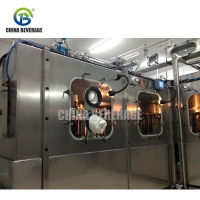 China Liquid 12000BPH Aseptic Milk Pouch Bag Filling Machine on sale