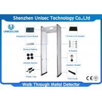 Quality 24 Mutual Over-Lapping Detecting Zones Walk Thru Metal Detectors For Tender Prison wholesale
