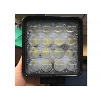 Quality 4D 48W CREE LED Truck Work Lights 4.5 Inch Square With Long Lifespan wholesale