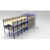 Quality Ground + Two Flooring 246FT/7.5M Height Shelving With Mezzanine Floors System wholesale