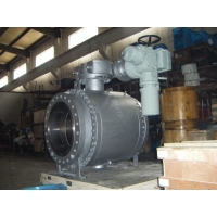 China Soft Seat 16 Inch 600LB Trunnion Mounted Ball Valve on sale