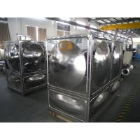 Quality Water Treatment Stainless Steel Water Tanks For Firefighting wholesale