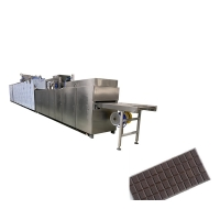 China PLC Operation Two Depositors Chocolate Bar Machine 300kg/hour on sale