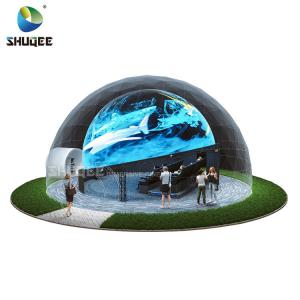 Quality Big Profit Business 14 People 5D Cinema Dome Projection Built On The Playground wholesale