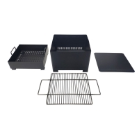 China Small Foldable 1.0mm Stainless Steel Charcoal BBQ Grill on sale
