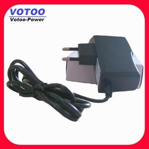 Quality 9watt Black / White AC DC Power Adapter , 6v 1500amps Universal Power wholesale