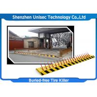 Quality Security Equipment Electronic Hydraulic Tyre Spike Barrier wholesale