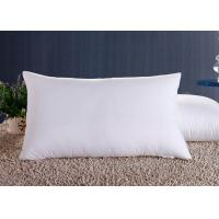 Quality Polyester Fiber Hotel Standard Comfort Pillows , Hotel Collection Decorative Down Pillows wholesale