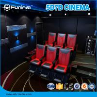 Quality Entertaining Mobile 5D Truck 7D Cinema Equipment Customized Projection Screen wholesale