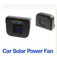 China Solar Power Car Auto Cool Air Vent With Rubber Stripping on sale