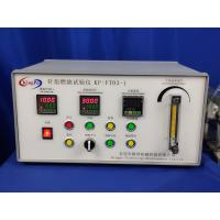 China IEC60695-11-5 Table Type Needle Flame Tester For Assessing The Internal Fault Conditions Caused By Small Flame on sale
