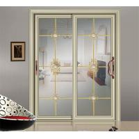 Quality champagne sliding glass door China suppliers interior glass door wholesale