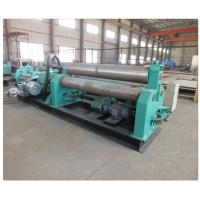 Quality Plate Bending Machine Three Hydraulic Motors Thickness 15~100mm Roll Forming Machinery wholesale