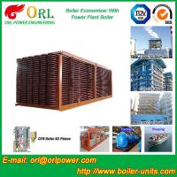 Quality Electrical Water CFB Boiler Economizer Power Plant , Steam Boiler Economizer wholesale