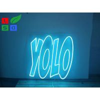 Quality Illuminated LED Channel Letter Signs Shaped Soft Advertising Neon Light For Bar Sign wholesale