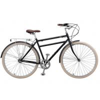 Quality High grade hi ten steel colorful 36 holes 26 inch old style city bike for man with rear carrier wholesale